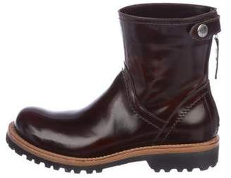 Brunello Cucinelli Leather Ankle Boots