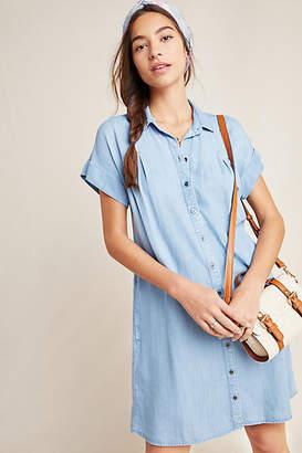 Cloth & Stone Janine Chambray Shirtdress