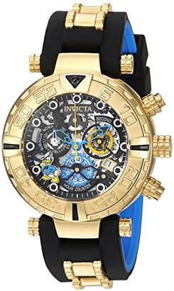 Invicta Men's 'Disney Limited Edition' Quartz Gold-Tone and Silicone Casual Watch