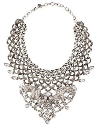 DYLANLEX Crystal Collar Necklace