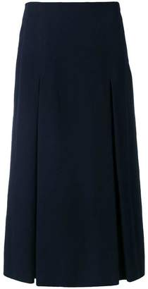 Alberto Biani pleated A-line skirt
