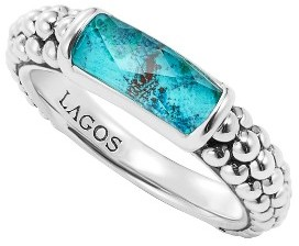 Women's Lagos 'Maya' Stackable Caviar Ring $250 thestylecure.com