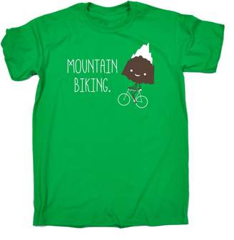 123t Kids Mountain Biking ... Snow Top Mountain (Age-9-11 - ) KIDS T SHIRT