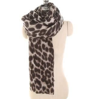 WeMiao Women Ladies Leopard Print Scarf Winter Scarf Pashmina Wrap Shawl Blanket Headscarf