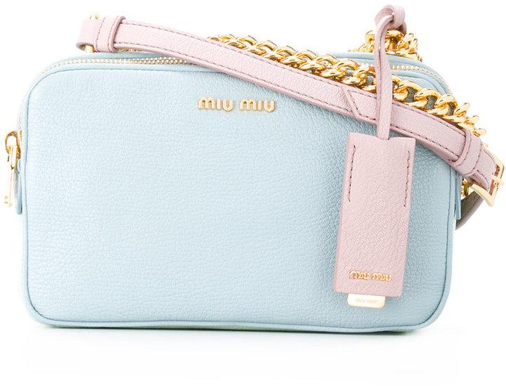 Miu MiuMiu Miu camera shoulder bag
