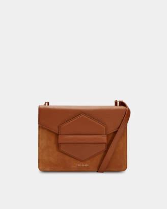 Ted Baker WILLOWW Leather keeper detail shoulder bag