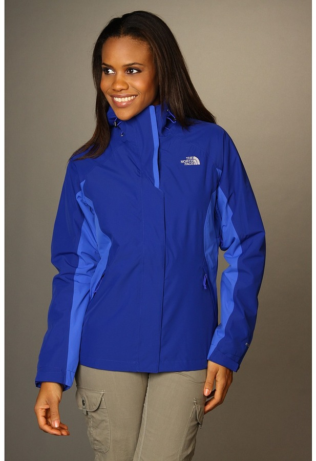 The North Face Evolve Triclimate Jacket (Bolt Blue/Vibrant Blue/Vibrant Blue) - Apparel