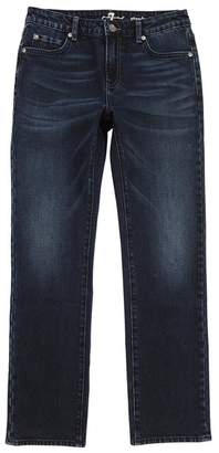 7 For All Mankind Kids Boys 8-16 Standard Stretch Jean In Dark Currant