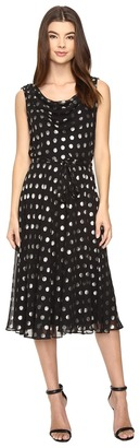 Christin Michaels Greenfield Drape Neck Dress $74 thestylecure.com