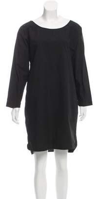 Nili Lotan Oversize Poplin Dress