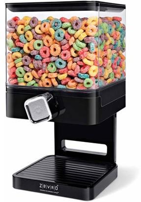 Zevro by Honey Can Do Compact 17.5 oz. Single Cereal Dispenser, Multicolor
