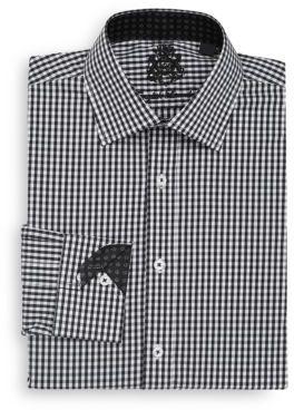 Regular-Fit Gingham Dress Shirt $98.50 thestylecure.com