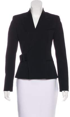 Jean Paul Gaultier Belted Virgin Wool Blazer