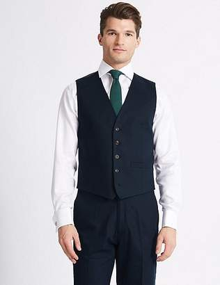 Marks and Spencer Regular Fit Waistcoat