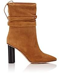 IRO Women's Suede Slouchy Ankle Boots-Camel Size 6