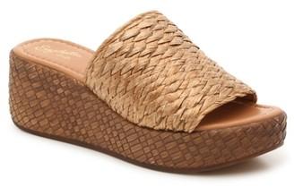 Seychelles Sterling Silver Wedge Sandal