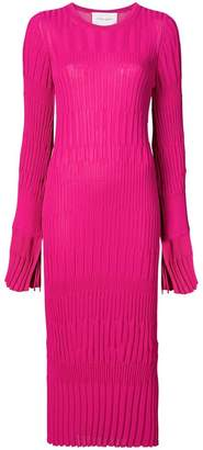 Carolina Herrera fitted knit dress