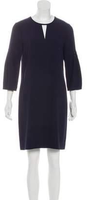 Burberry Mini Long Sleeve Dress