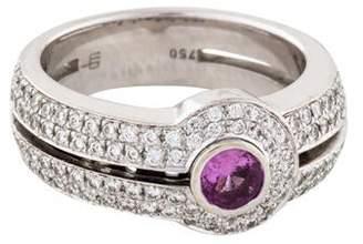 Di Modolo 18K Sapphire & Diamond Cocktail Ring