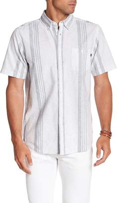 Obey Baron Slim Fit Print Woven Shirt