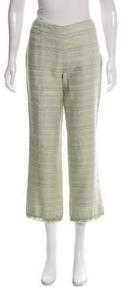 Malo Tweed Mid-Rise Pants w/ Tags