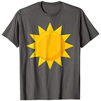 BFF Matching Sun And Moon Eclipse Sun T-Shirt