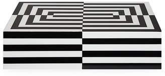 Jonathan Adler Optical Art Lacquered Large Box