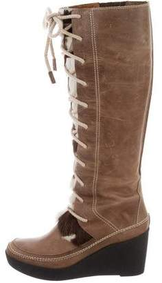 Juicy Couture Leather Knee-High Boots