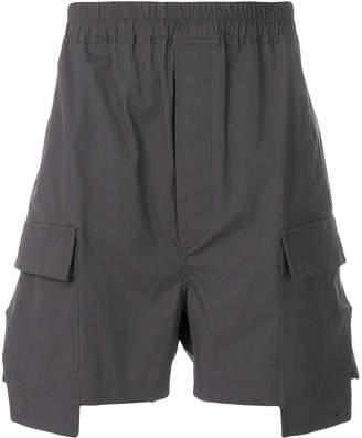 Rick Owens cargo pocket shorts