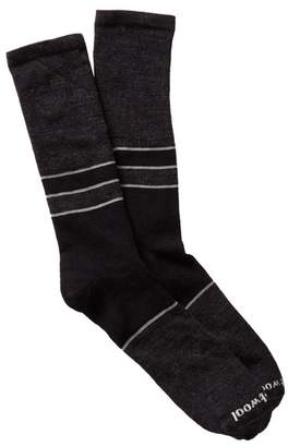 Smartwool Colorblock Denim Crew Socks