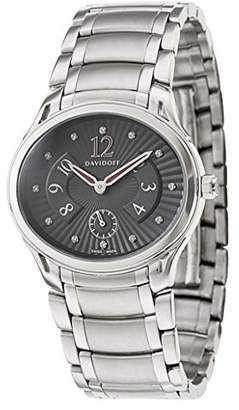 Davidoff Womens Automatic Watch Analogue Display and Stainless Steel Strap 10016