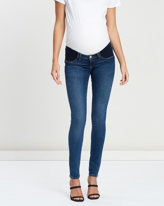 Mavi Jeans Reina Maternity Mid Gold Reform Jeans