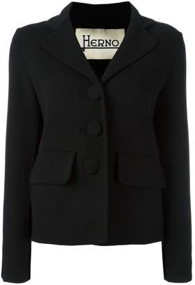 Herno three-button blazer