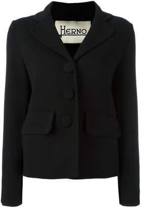 Herno three-button blazer