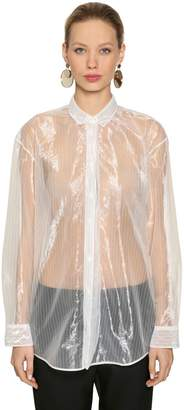 Jil Sander Pinstriped Sheer Shirt
