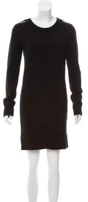Lanvin Wool Knit Sweater Dress