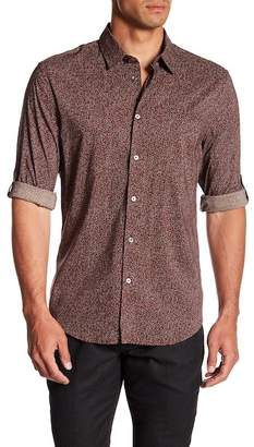John Varvatos Collection Marled Slim Fit Shirt