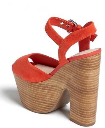 Topshop 'Lassie' Platform Sandal