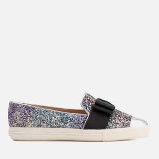 6f873bc3f965 Miss KG Women s Lisa Glitter Slip-On Pumps
