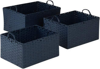 Honey-Can-Do 3Pc Basket Set