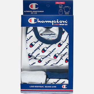 Champion Infant Allover Print 3-Piece Creeper Set