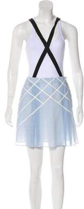 Band Of Outsiders Suspender Mini Skirt