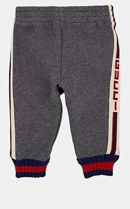 3d8e065080a Gucci Infants  Logo Cotton French Terry Sweatpants - Gray