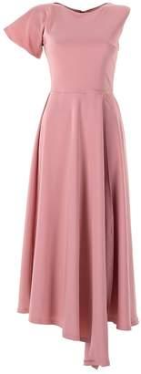 Emelita - Light Rose Maxi Sleeve Shirt Dress