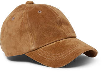 Beams Water-Repellent Suede Baseball Cap