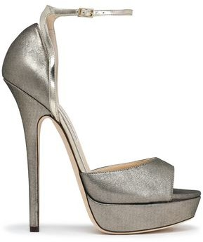 Jimmy Choo Metallic Leather Pumps