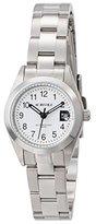 Aureole [オレオール 日本製10気圧防水クォーツデイト レディース腕時計 SW-591L-C