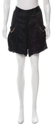 Mayle Tailored Silk Shorts