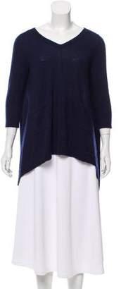 Autumn Cashmere Short Sleeve V-Neck Sweater