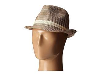 San Diego Hat Company MXF2006 Mixed Braid Fedora